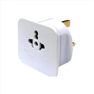 Masterplug Travel Power TAVUK-MP Visitor to UK Adaptor