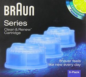 Braun Clean & Renew CCR3 Electric Shaver Refill Cartridges – Pack of 3